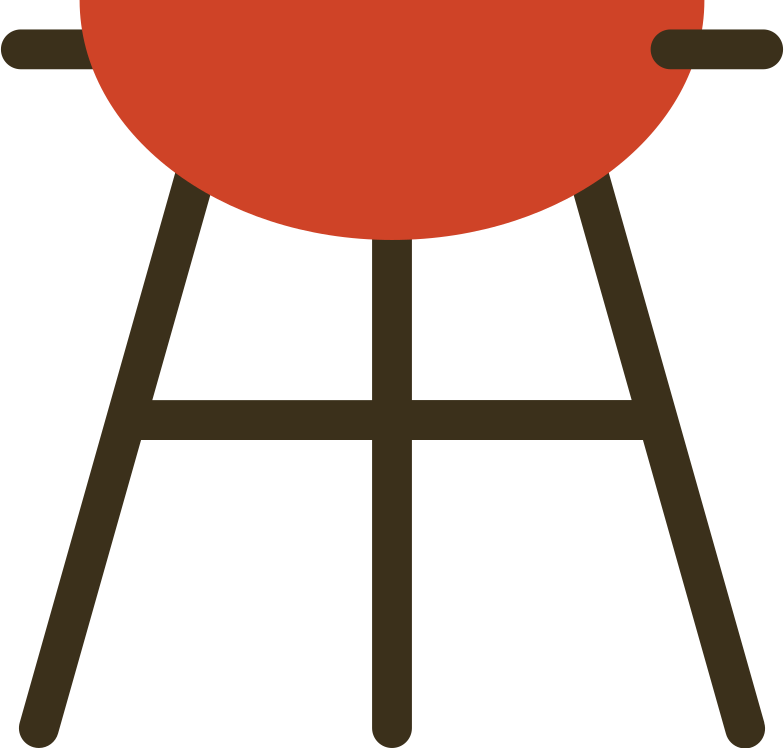 bbq grill Clipart illustration in PNG, SVG