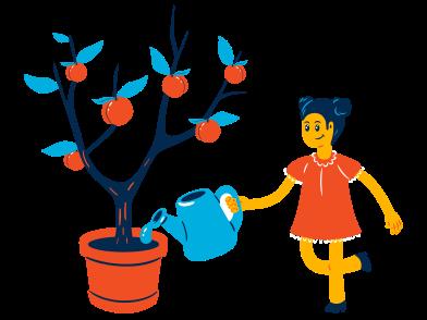 Imágenes de Árbol de manzana estilo  en PNG y SVG | Ilustraciones Icons8
