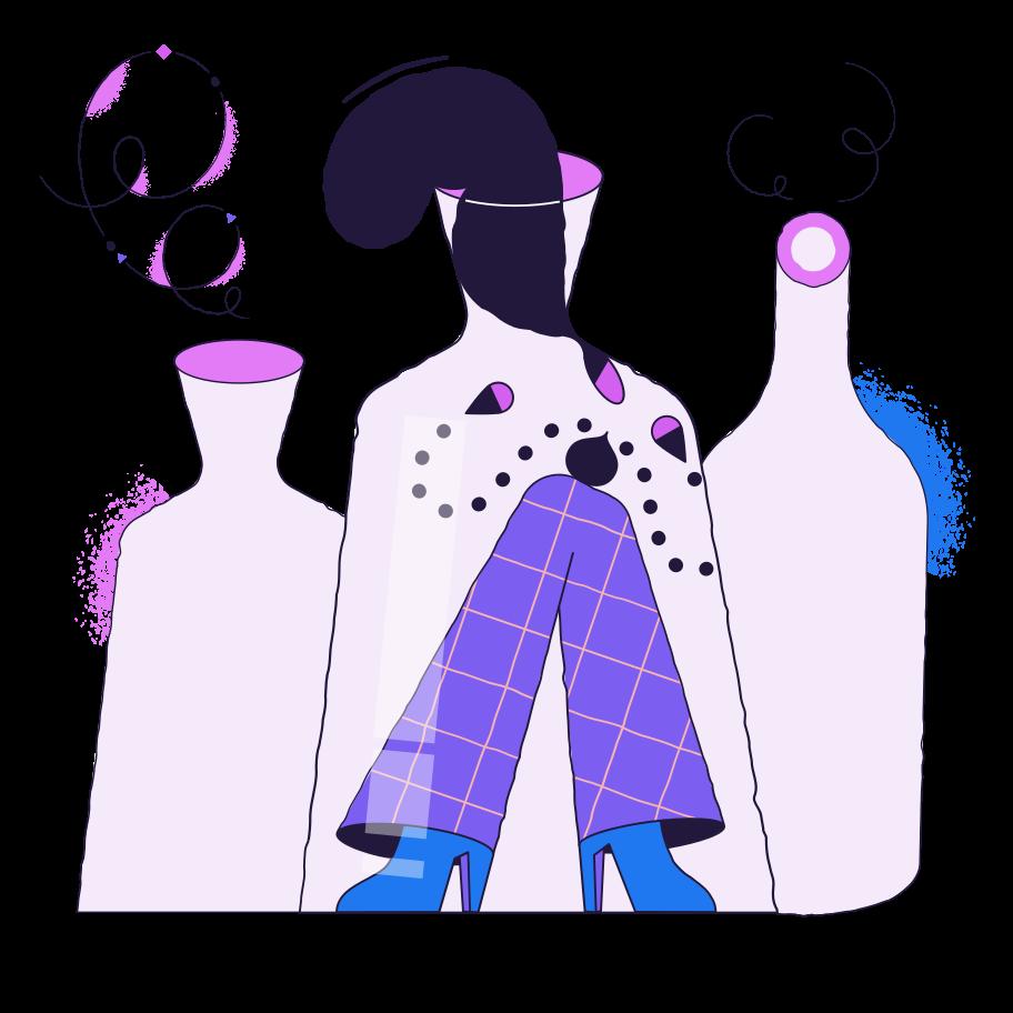 In der flasche Clipart-Grafik als PNG, SVG
