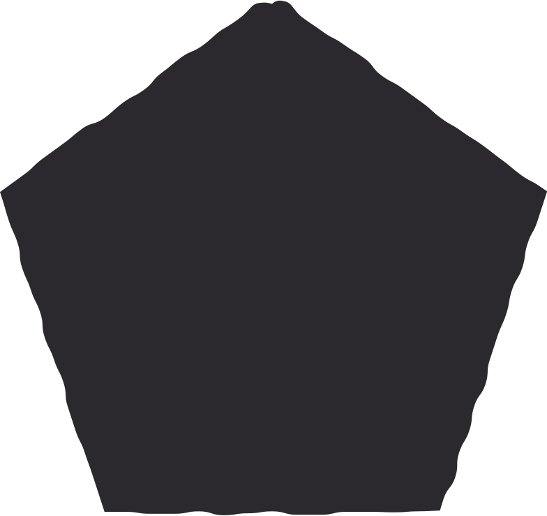style pentagon black Vector images in PNG and SVG | Icons8 Illustrations
