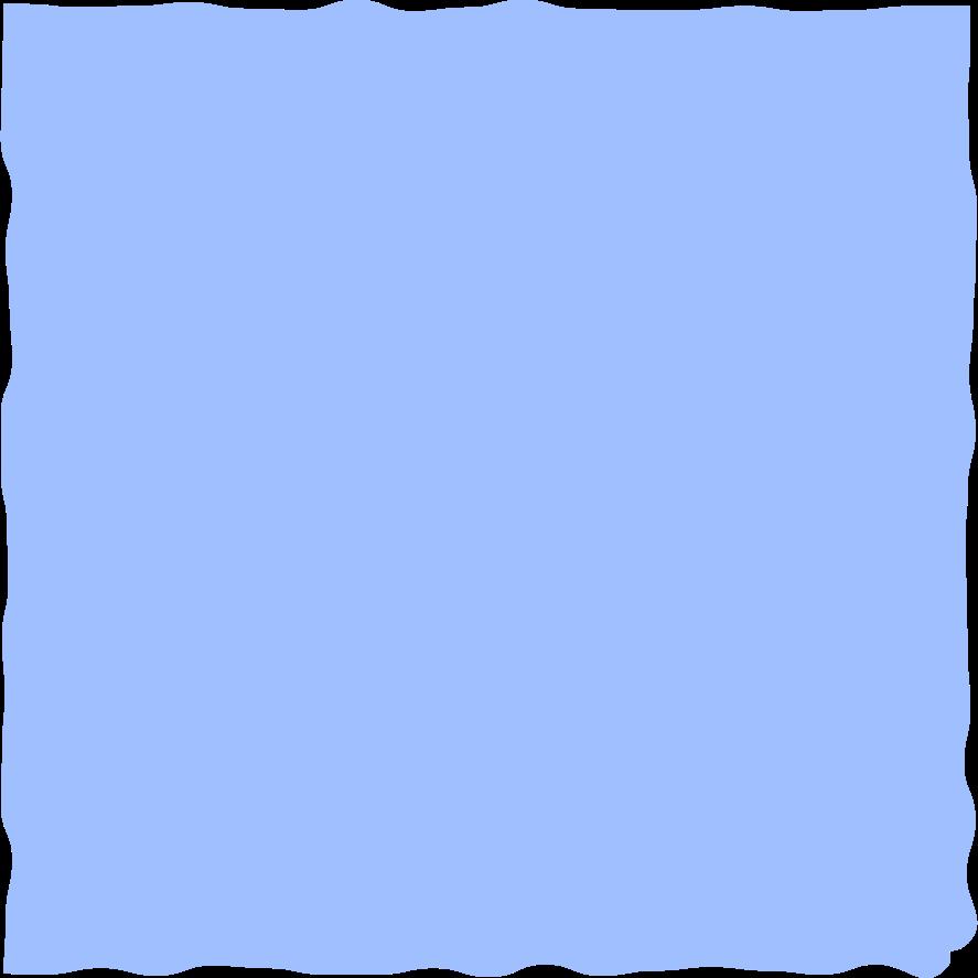 square light blue Clipart illustration in PNG, SVG