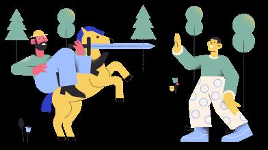 Иллюстрация Атака в стиле  в PNG и SVG | Icons8 Иллюстрации