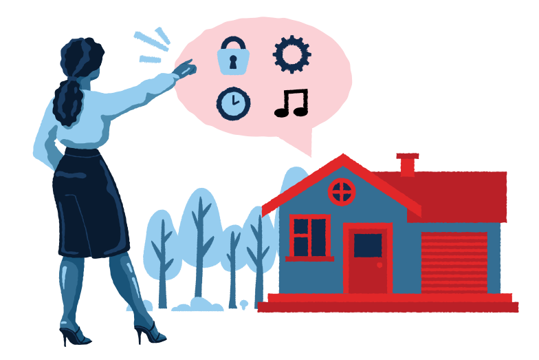 style Smart house interface Vector images in PNG and SVG | Icons8 Illustrations