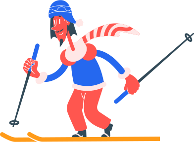 style skier images in PNG and SVG | Icons8 Illustrations
