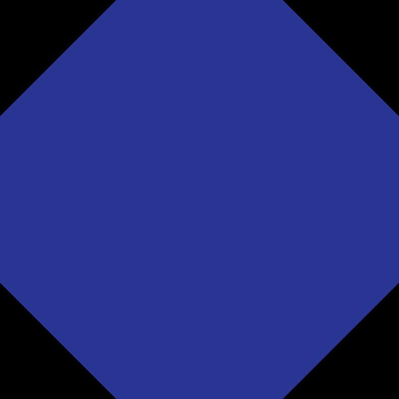octagon dark blue Clipart illustration in PNG, SVG