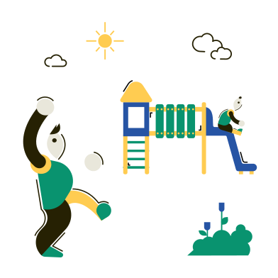style Children's playground images in PNG and SVG | Icons8 Illustrations