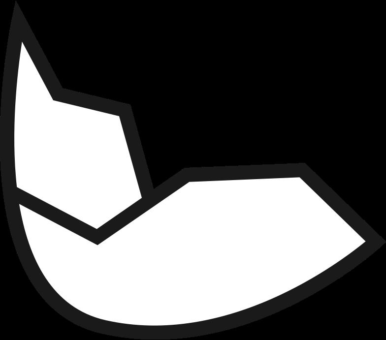 eggshell Clipart illustration in PNG, SVG