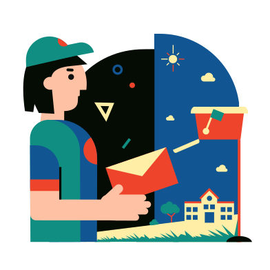 style Postman images in PNG and SVG | Icons8 Illustrations