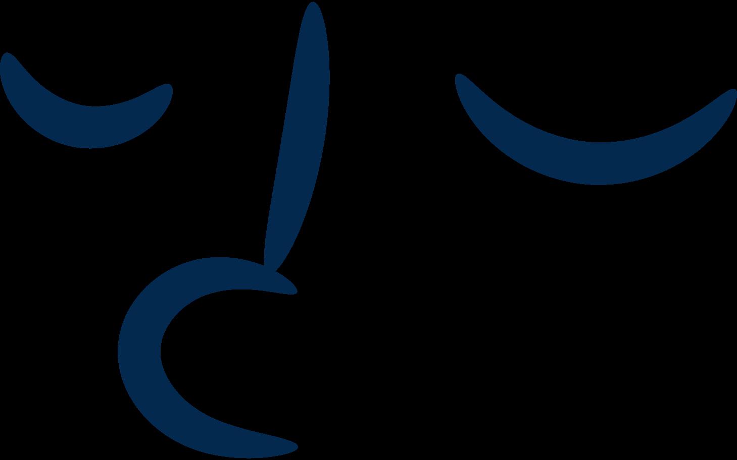Gesicht ruhig Clipart-Grafik als PNG, SVG