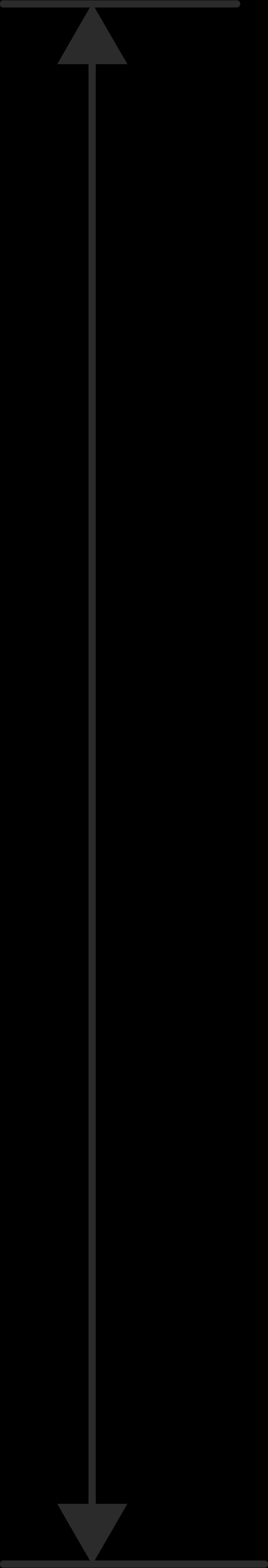 vertical arrow Clipart illustration in PNG, SVG