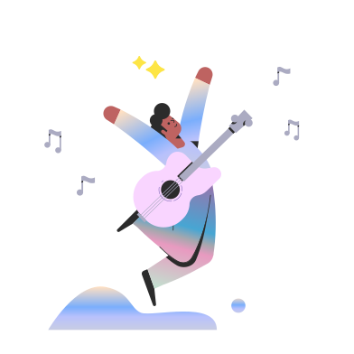 style Rock music star images in PNG and SVG | Icons8 Illustrations