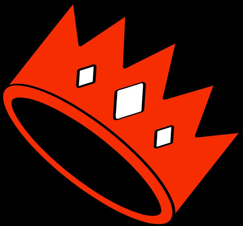 crown Clipart illustration in PNG, SVG