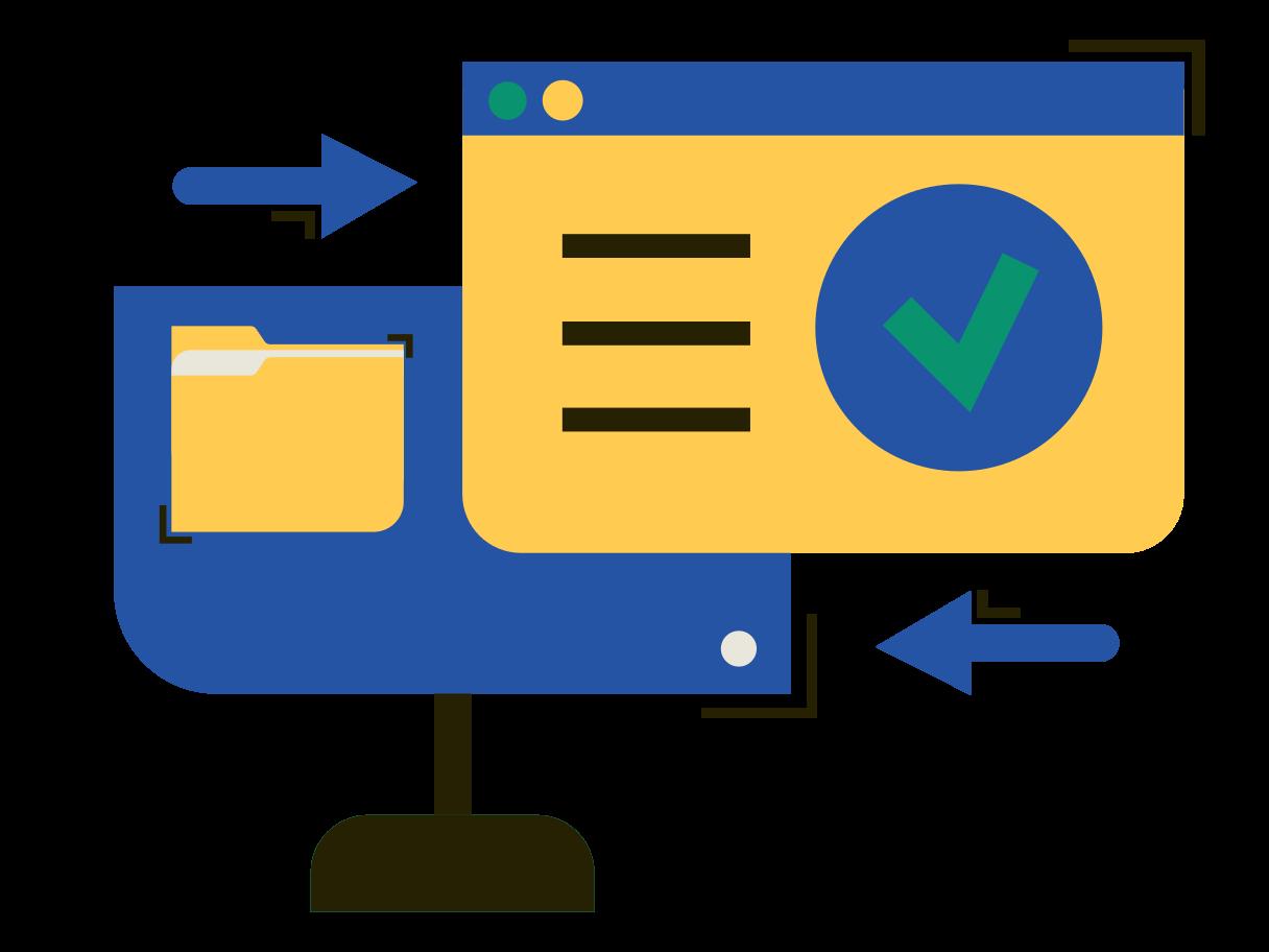 Data validation Clipart illustration in PNG, SVG