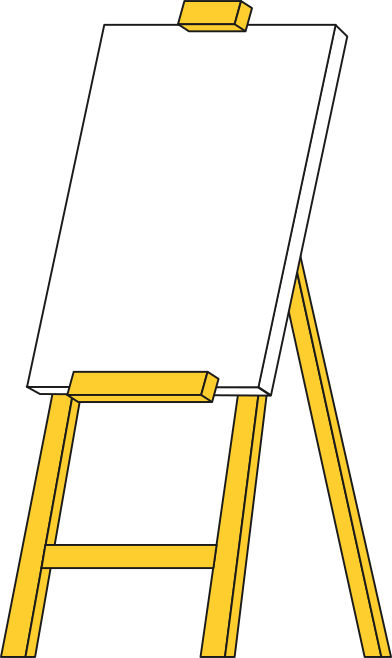style easel images in PNG and SVG   Icons8 Illustrations