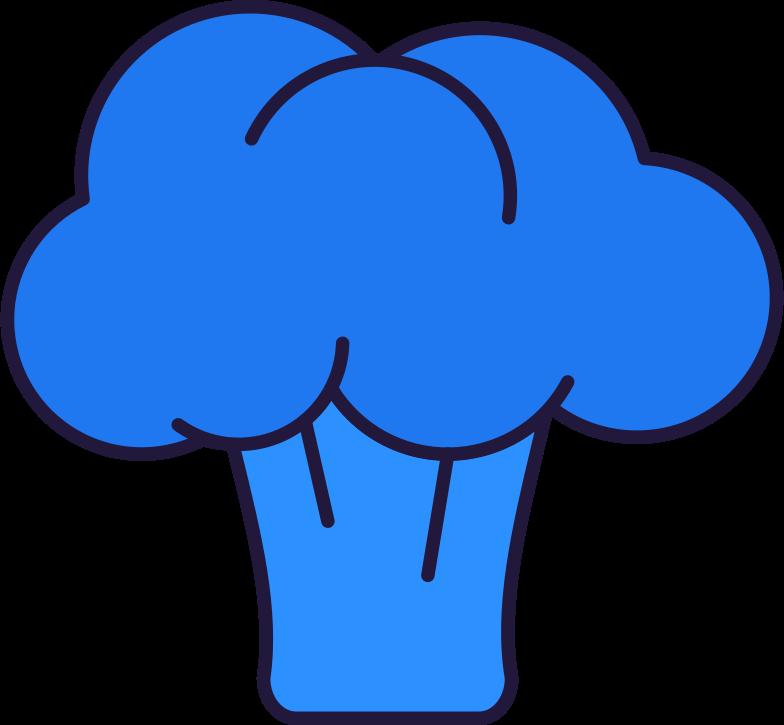 l broccoli Clipart illustration in PNG, SVG