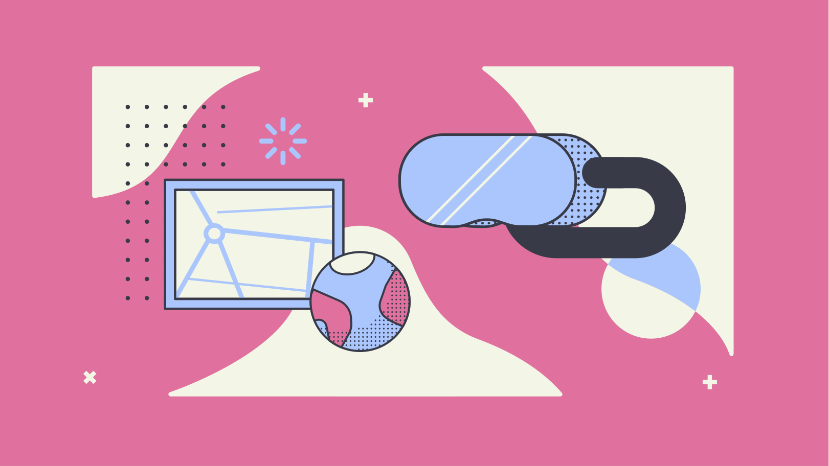 Virtual reality Clipart illustration in PNG, SVG