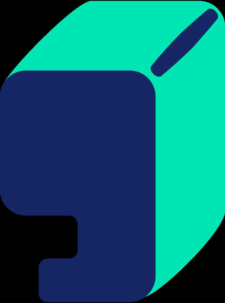Ilustración de clipart de párrafo en PNG, SVG