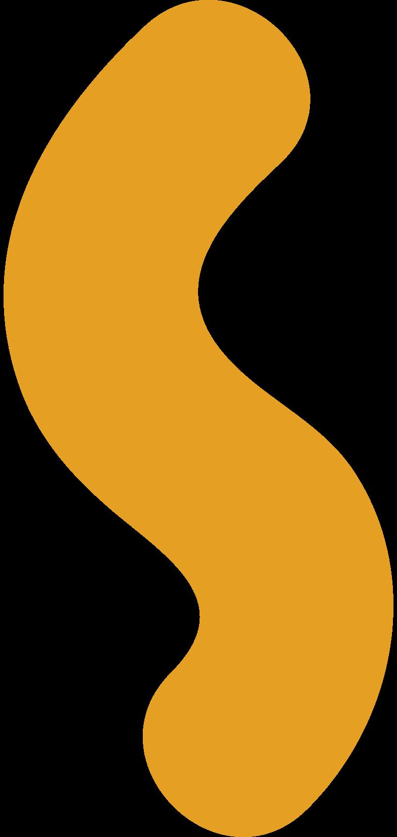 Ilustración de clipart de gusano en PNG, SVG