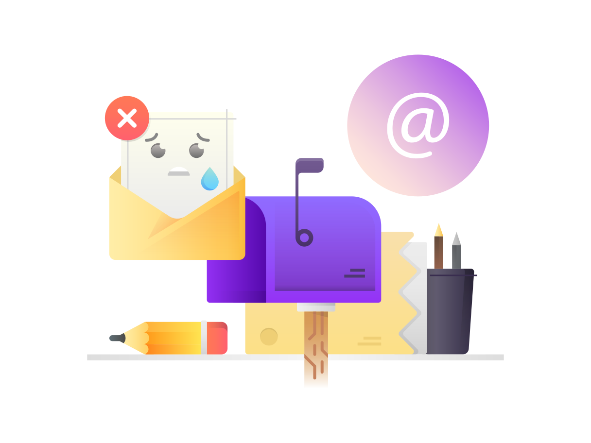 Unsubscribed Clipart illustration in PNG, SVG