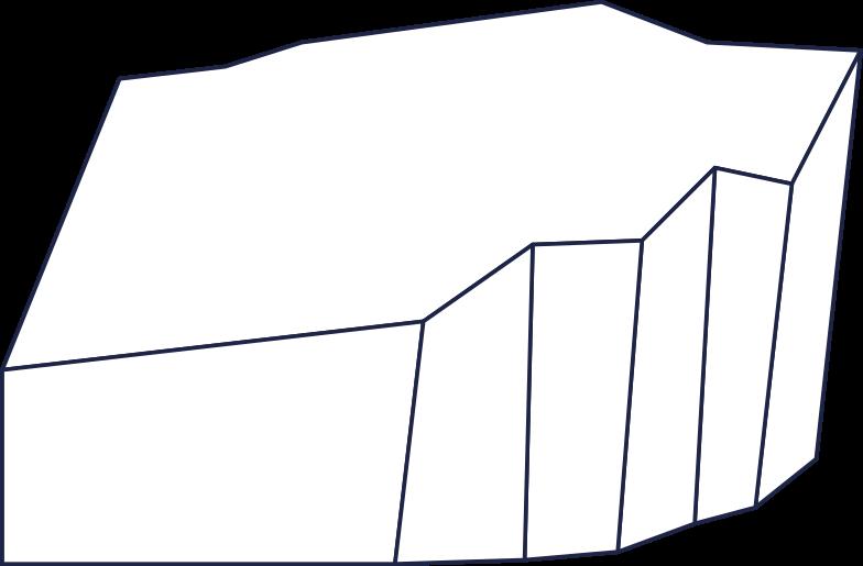 rock line Clipart illustration in PNG, SVG