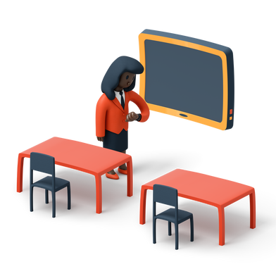 style Waiting teacher images in PNG and SVG | Icons8 Illustrations