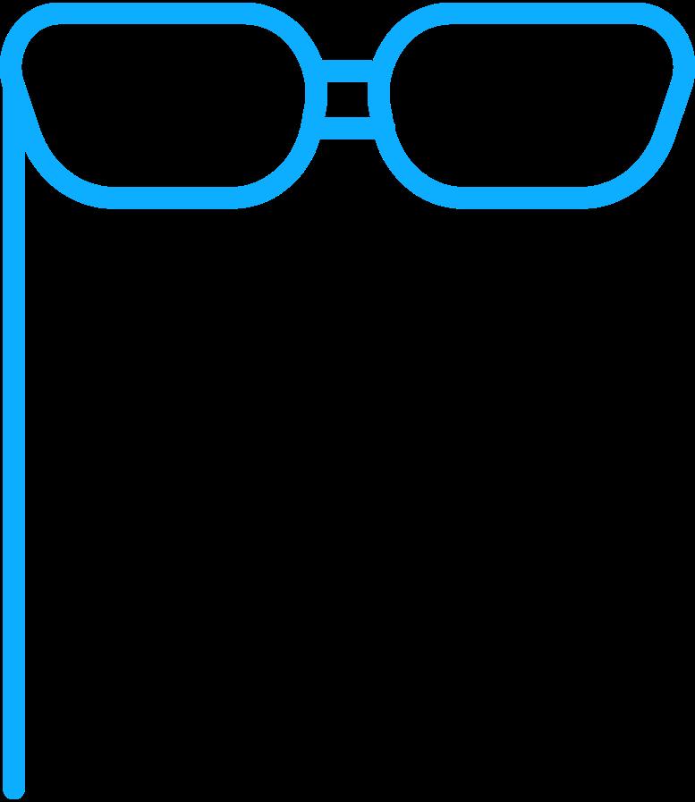 r glasses Clipart illustration in PNG, SVG