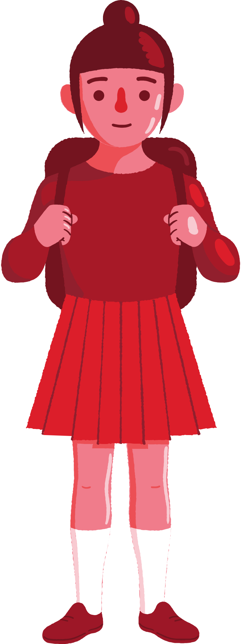 style school girl Vector images in PNG and SVG | Icons8 Illustrations