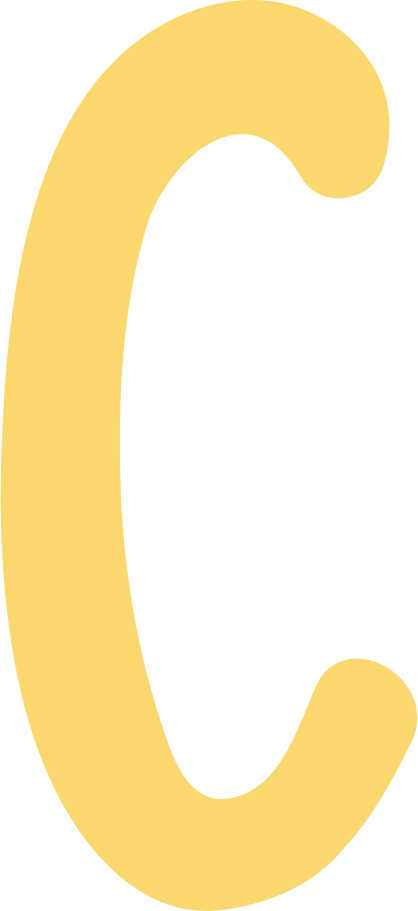 c letter Clipart illustration in PNG, SVG