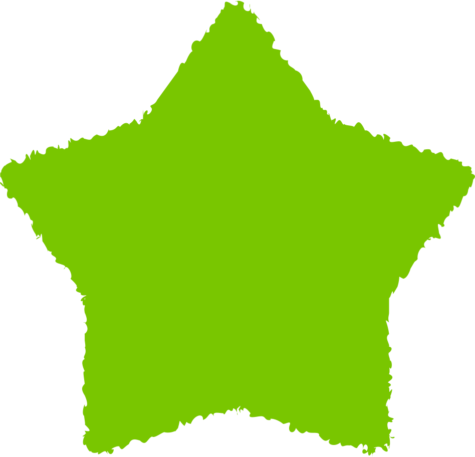 star green Clipart illustration in PNG, SVG