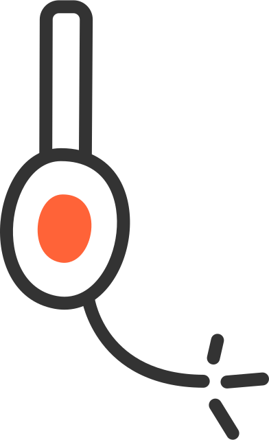 style support headphones images in PNG and SVG | Icons8 Illustrations