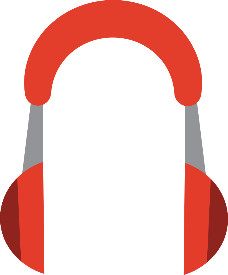 style support headphones Vector images in PNG and SVG | Icons8 Illustrations