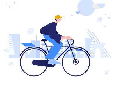 style Urban cycling images in PNG and SVG | Icons8 Illustrations