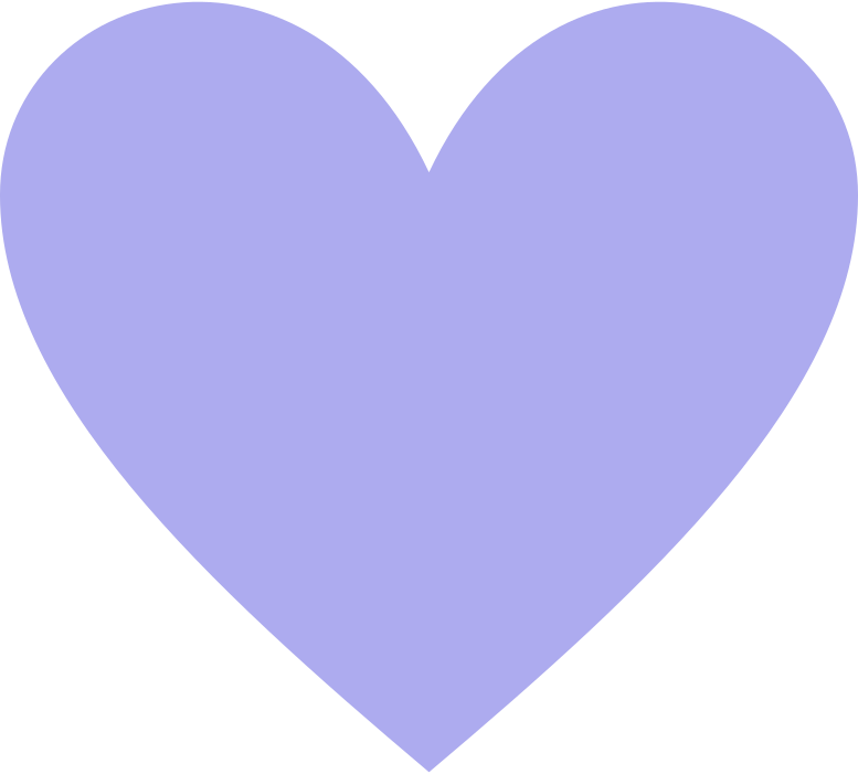 heart-purple Clipart illustration in PNG, SVG