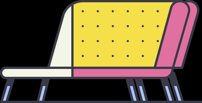 sofa Clipart illustration in PNG, SVG