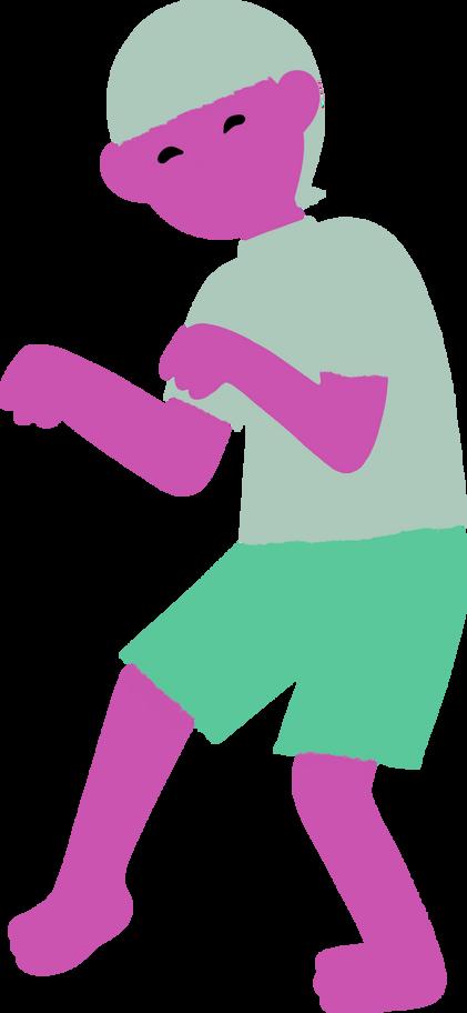 Illustration clipart garçon aux formats PNG, SVG