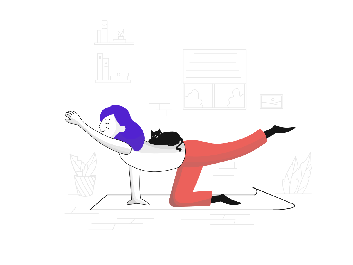 style Yoga Vector images in PNG and SVG | Icons8 Illustrations