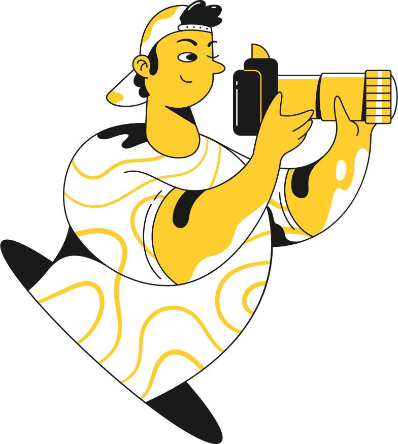 photographer Clipart illustration in PNG, SVG