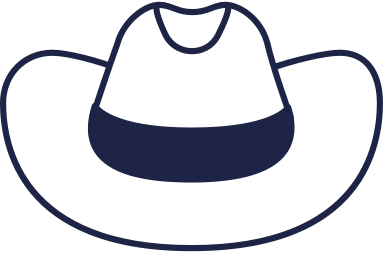 style cowboy hat line images in PNG and SVG | Icons8 Illustrations