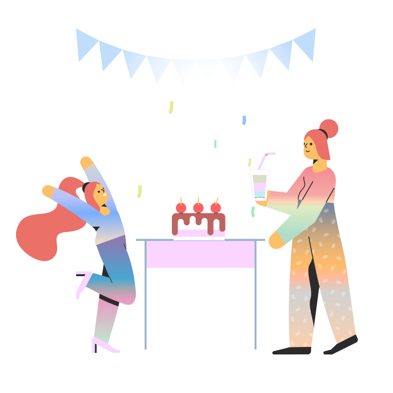 style Birthday party Vector images in PNG and SVG | Icons8 Illustrations