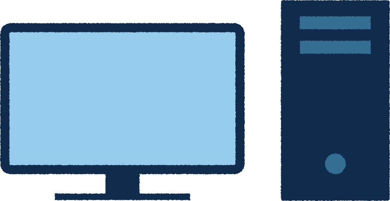 pc monitor Clipart illustration in PNG, SVG