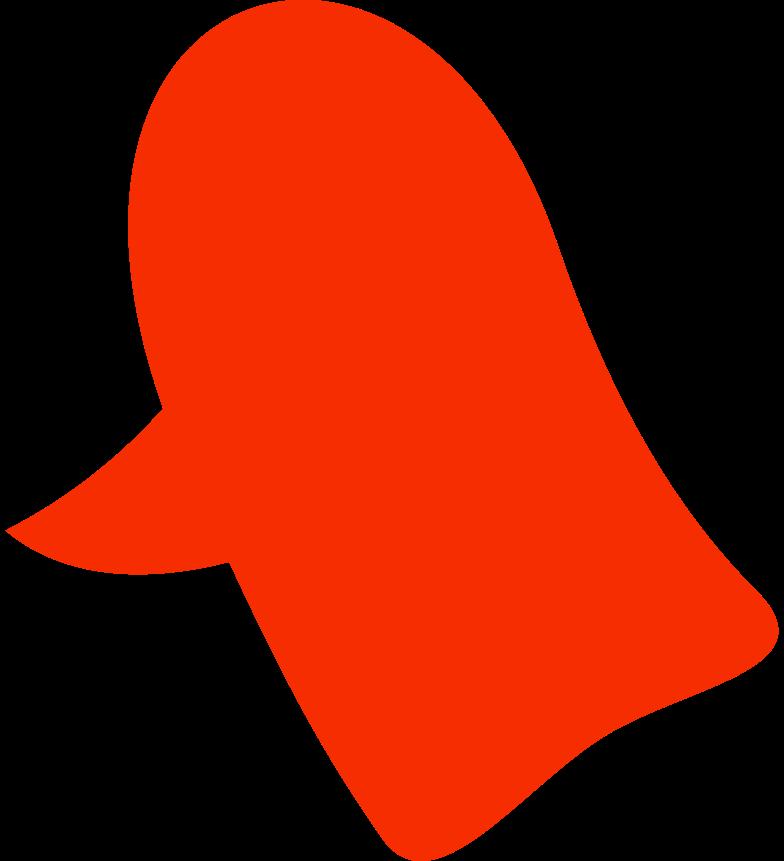 Cabeça de pássaro Clipart illustration in PNG, SVG