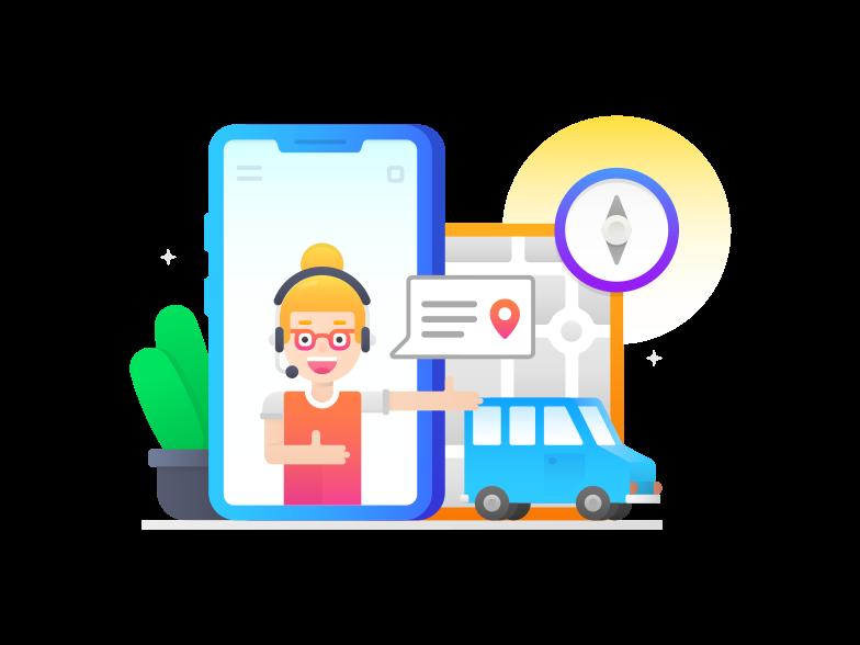 Navigation support Clipart illustration in PNG, SVG