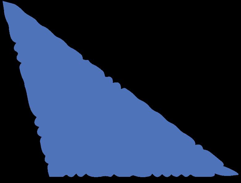 scalene blue Clipart-Grafik als PNG, SVG
