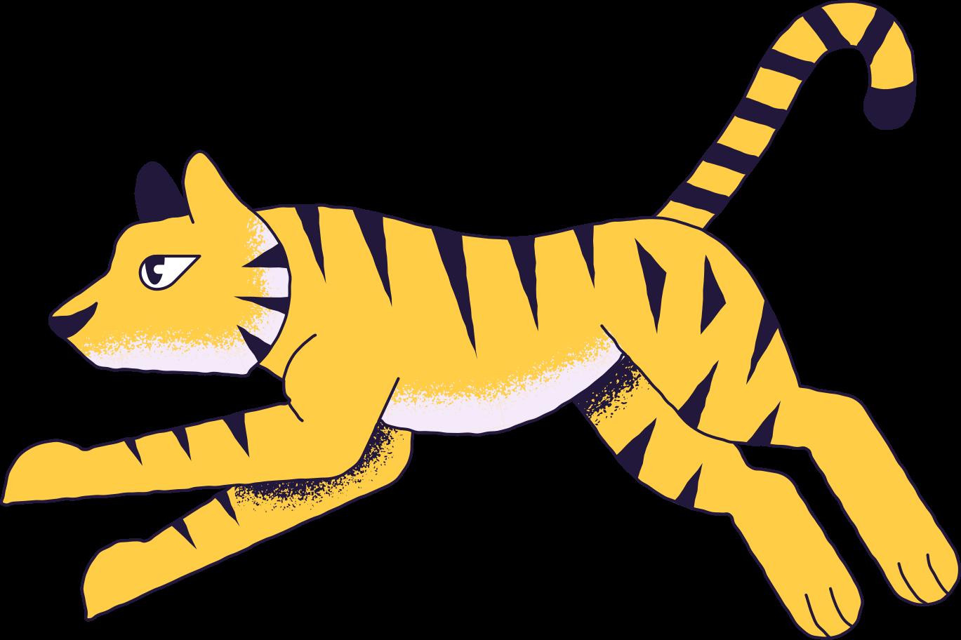 tiger Clipart illustration in PNG, SVG