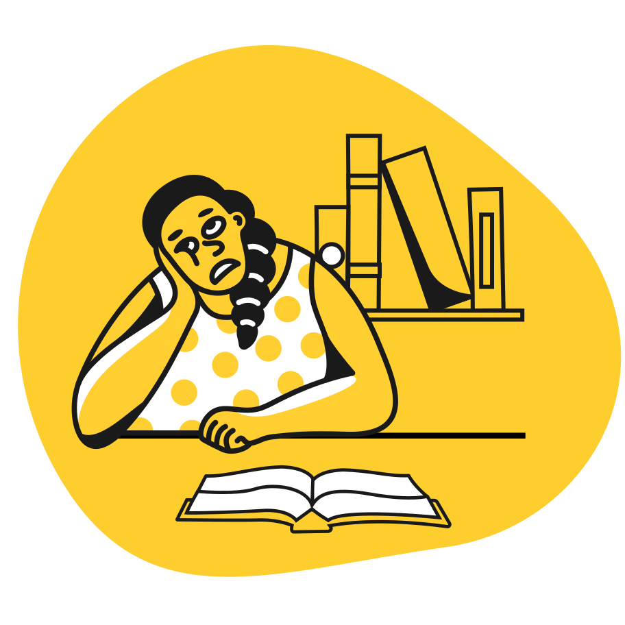 Boring book Clipart illustration in PNG, SVG