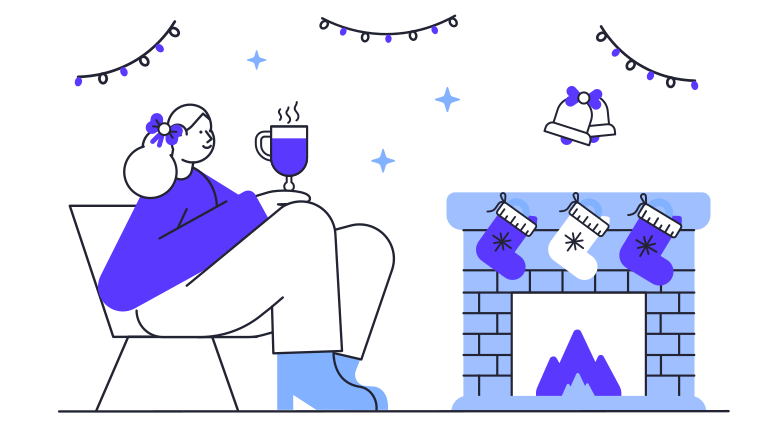 style Cozy evening Vector images in PNG and SVG | Icons8 Illustrations