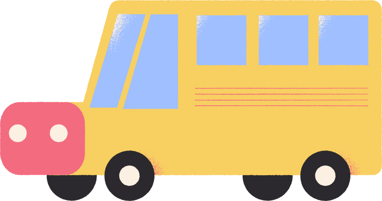 school bus Clipart illustration in PNG, SVG