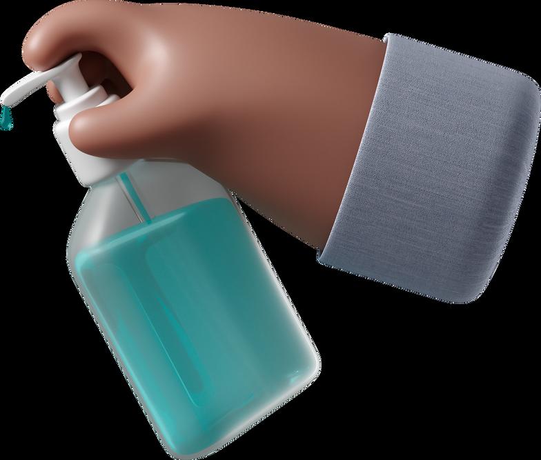 hands sanitizer Clipart illustration in PNG, SVG