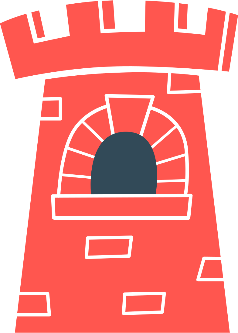 fortress Clipart illustration in PNG, SVG