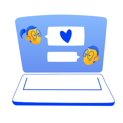 style Love chat images in PNG and SVG | Icons8 Illustrations